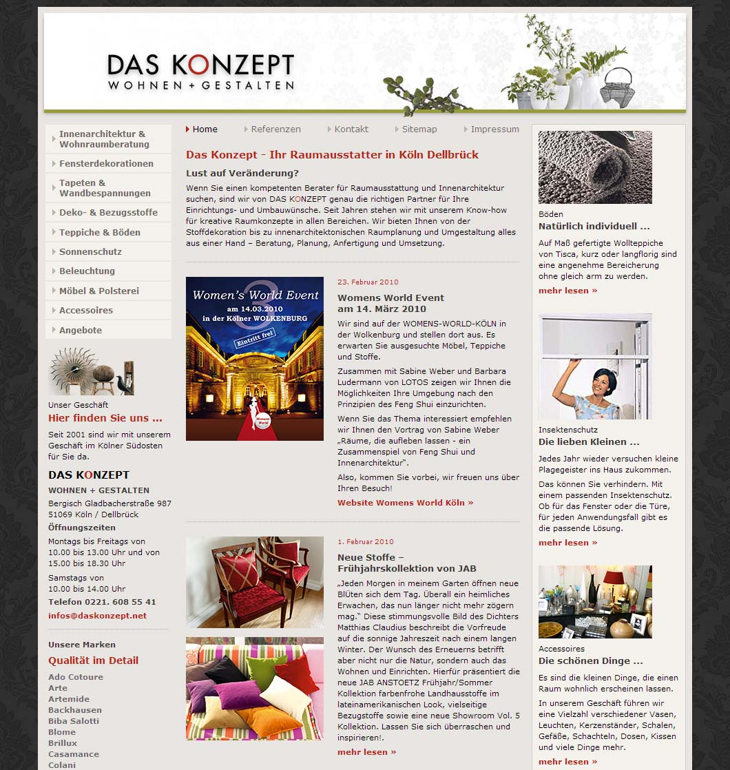 Das Konzept - Inneneinrichter Köln