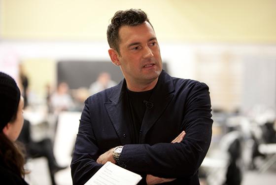 Michael Michalsky im Interview auf der StyleNite im Januar 2010