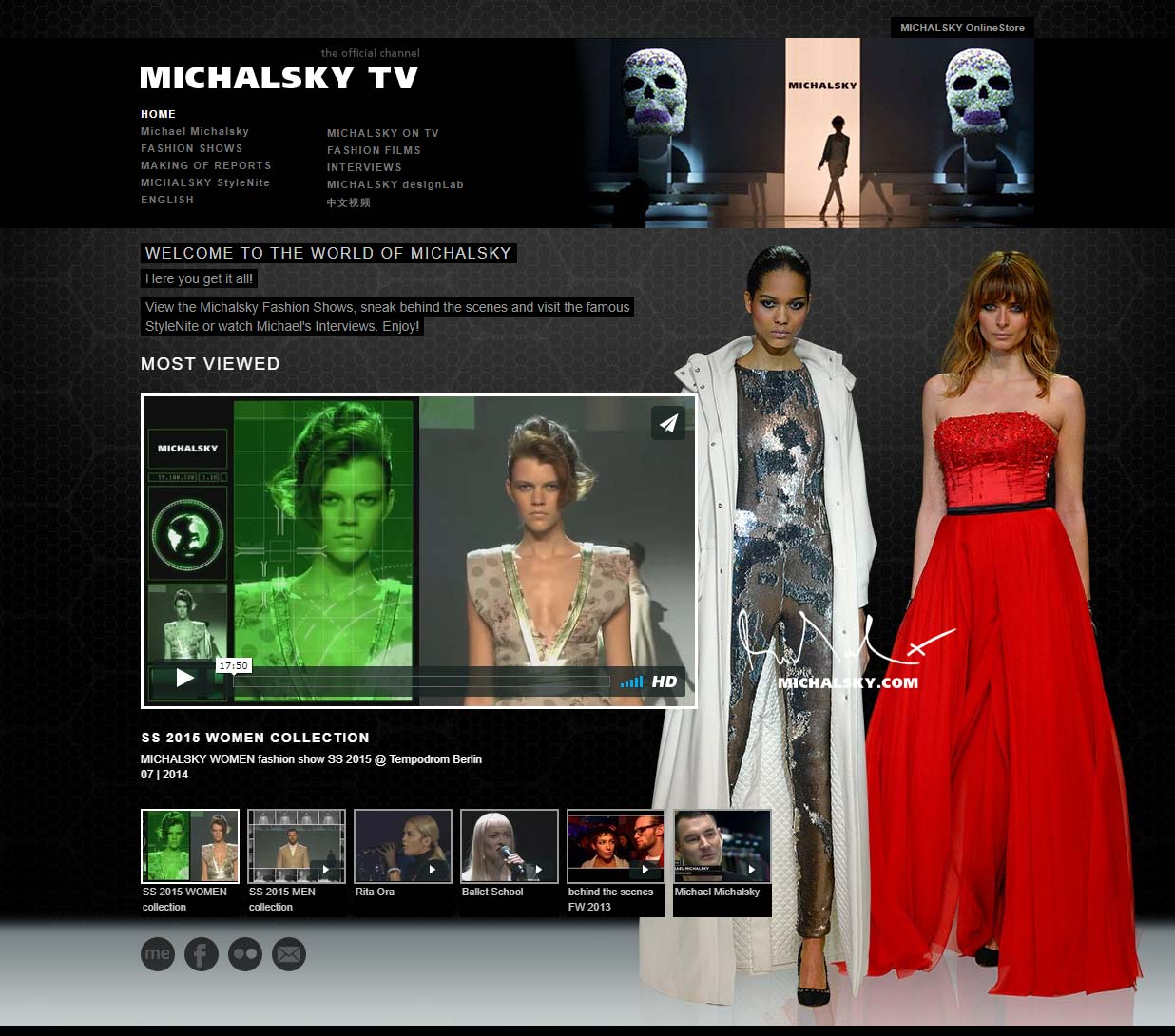 Michalsky TV Website
