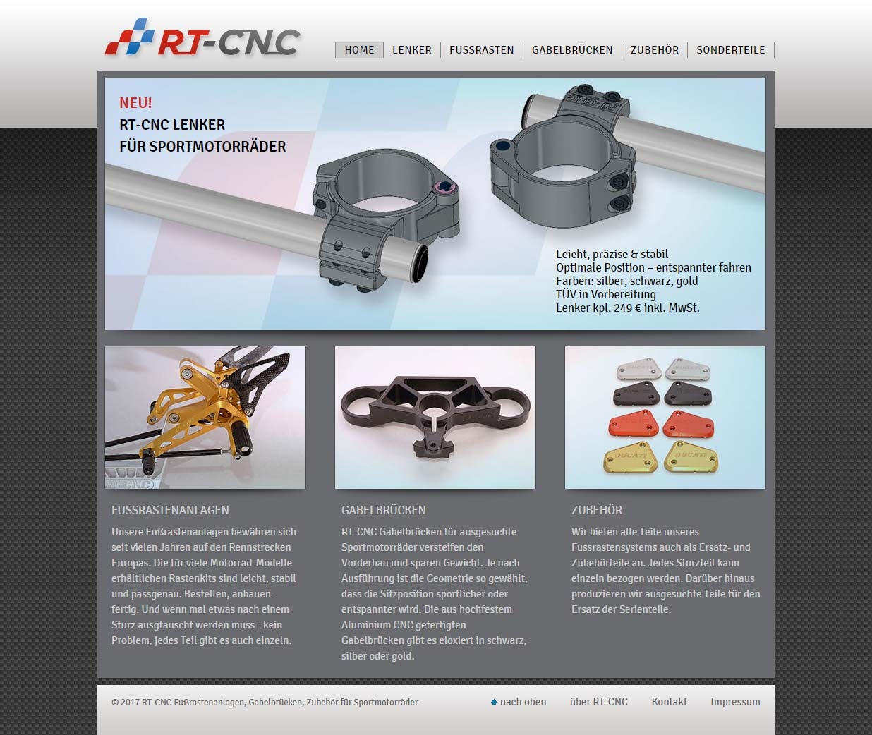 RT-CNC - neue Website
