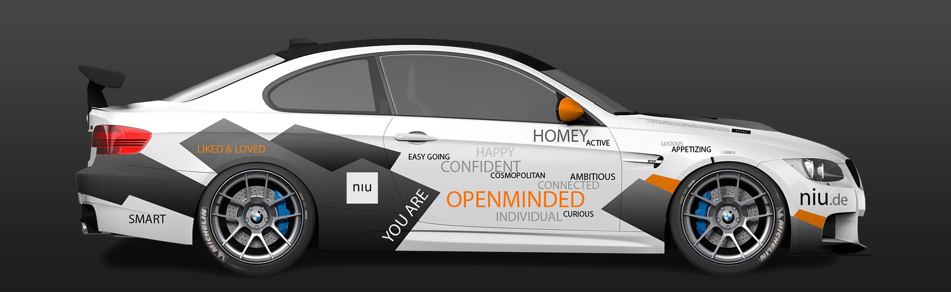 debleu - Motorsport-Design/ Race Car Livery