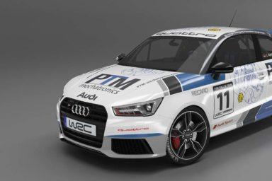 debleu - PTM-mechatronics Rallye-Livery für Audi S1